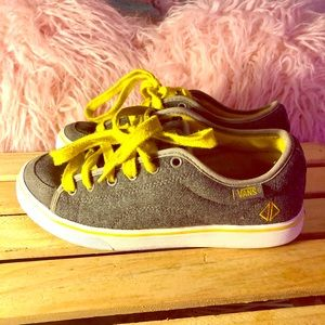 Vans Off The Wall Gray/yellow